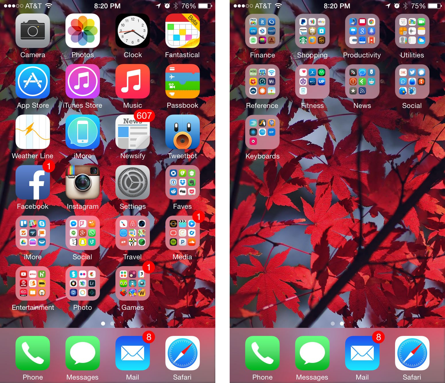 Fall Leaves Wallpaper Macbook What S On Ally S Iphone 6 Right Now Imore