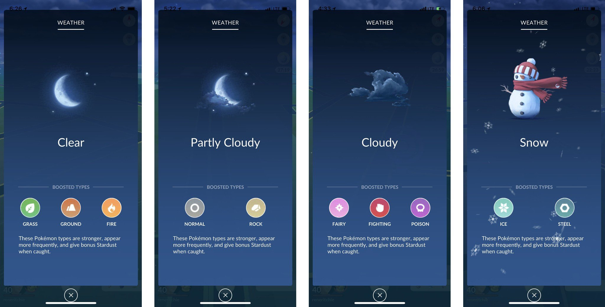 Clear Wallpaper Iphone X Pok 233 Mon Go And Dynamic Weather What You Need To Know Imore