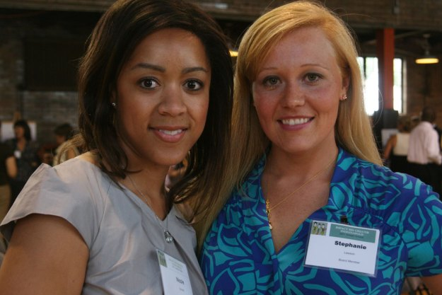 Nicole Conrad and Stephanie Goodrid Lawson