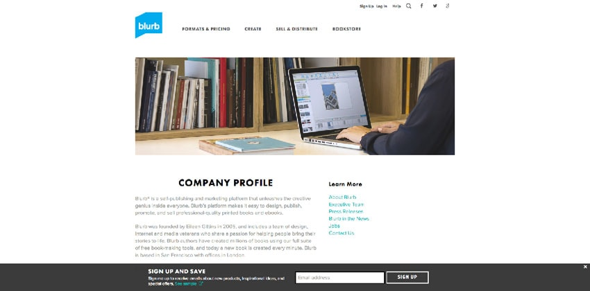 10 Examples of Company Profile Pages You Can Learn From +Free - company profile