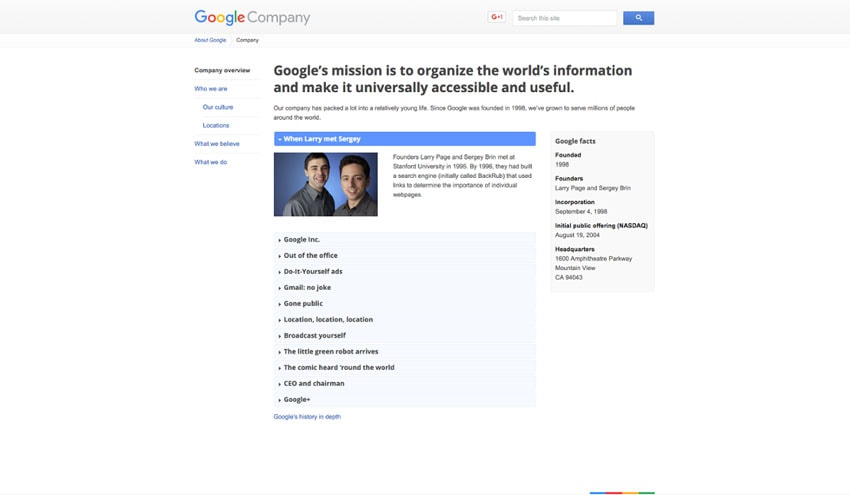 10 Examples of Company Profile Pages You Can Learn From +Free Template - company information template