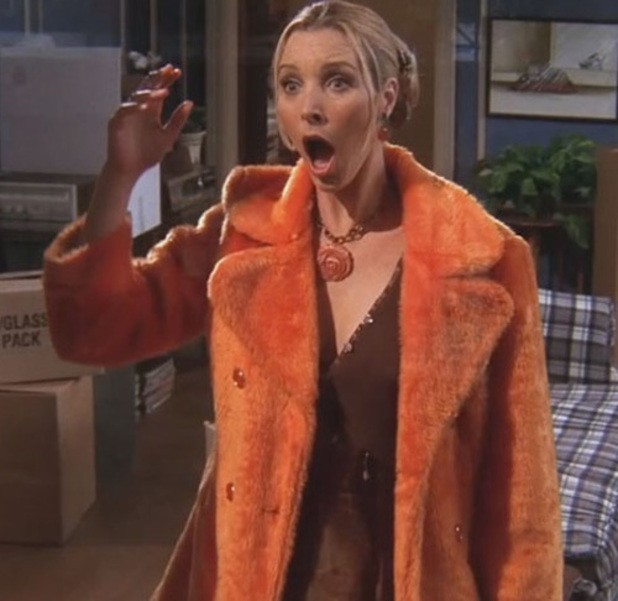 Phoebe - orange coat