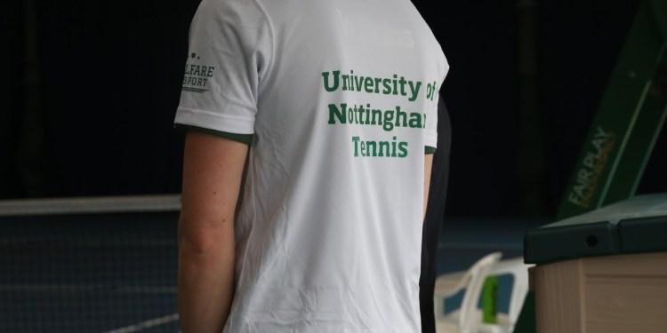 University of Nottigham Tennis...
