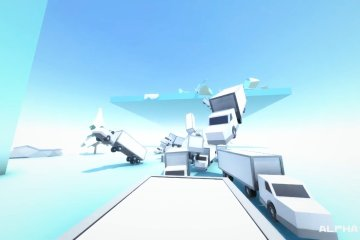 Clustertruck, developed by Landfall Games
