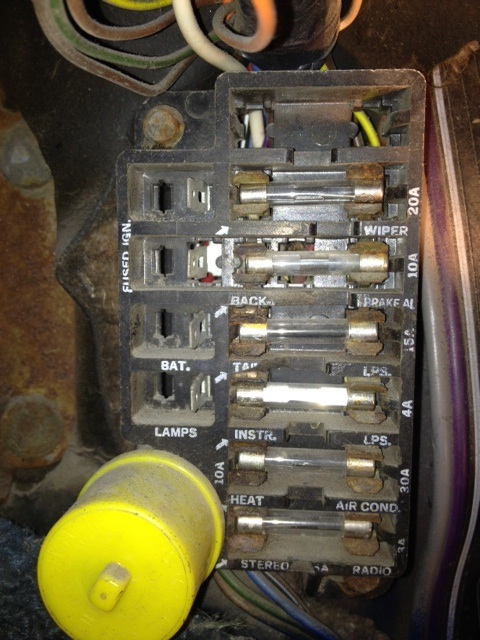 1974 Nova Fuse Box - Wiring Diagram Progresif
