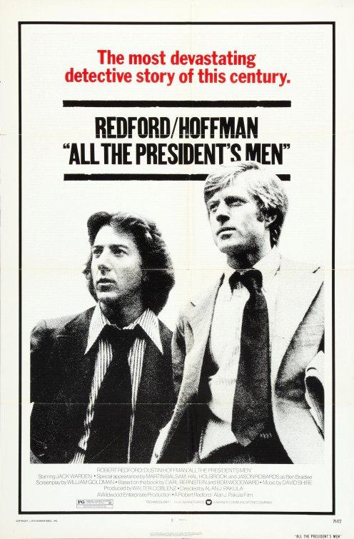 All the President\u0027s Men Movie Poster - IMP Awards