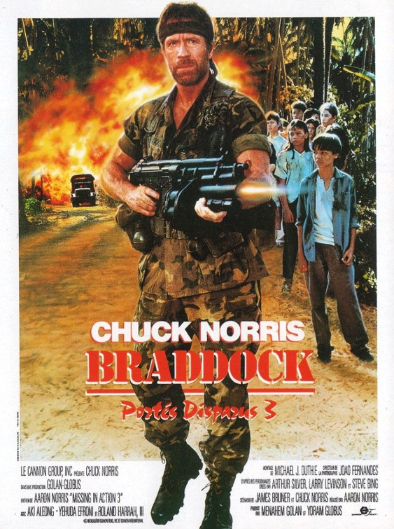 Braddock Missing in Action III Movie Poster - IMP Awards - make a missing poster
