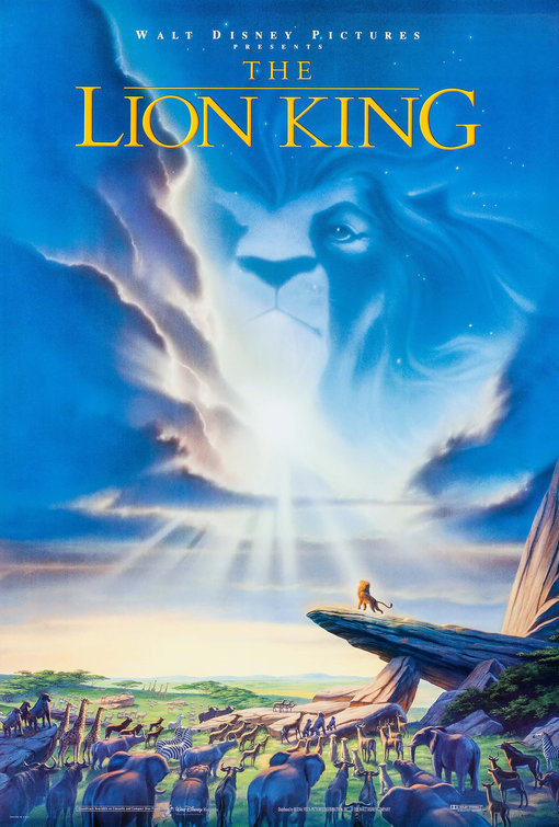 the lion king movie poster 1994 ford