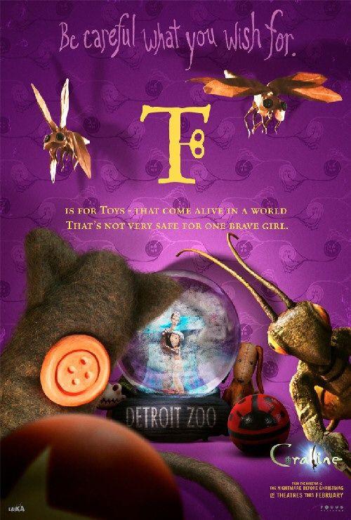 Desktop Wallpaper Book Quotes Coraline Movie Poster 22 Of 35 Imp Awards
