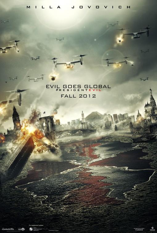 Resident Evil Retribution Movie Poster (#1 of 10) - IMP Awards