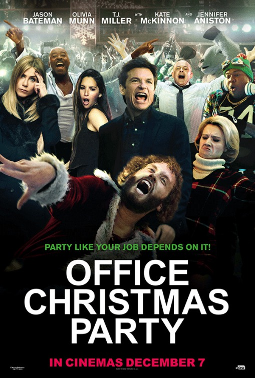 Office Christmas Party Movie Poster (#22 of 22) - IMP Awards