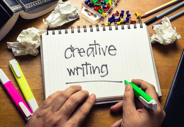 Creative Writing Administration and support services Imperial - creative writting