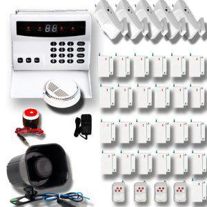 Kit d 39 allarme fai da te come scegliere il migliore impianto antifurto - Allarme casa fai da te ...