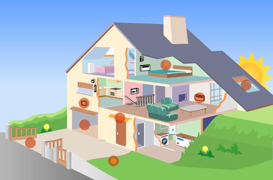 Domotica e impianto di antifurto per la casa automazione for La casa domotica