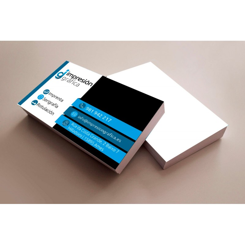 Tarjetas visita online Impresión tarjetas comerciales, imprenta online