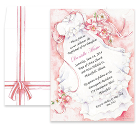 Little Girl With Flowers Hd Wallpaper Babies Amp Children Baptism Communion Invitations