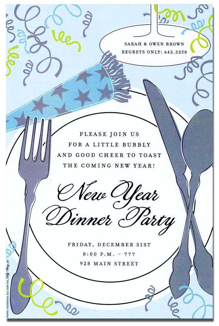 New Year\u0027s Eve Invitations