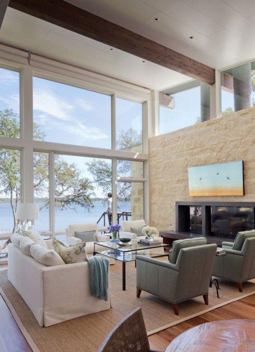 Medium Of Interior Design Of Living Rooms