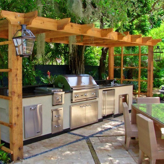 Summer Kitchen Design Ideas (50 Pictures) - summer kitchen design