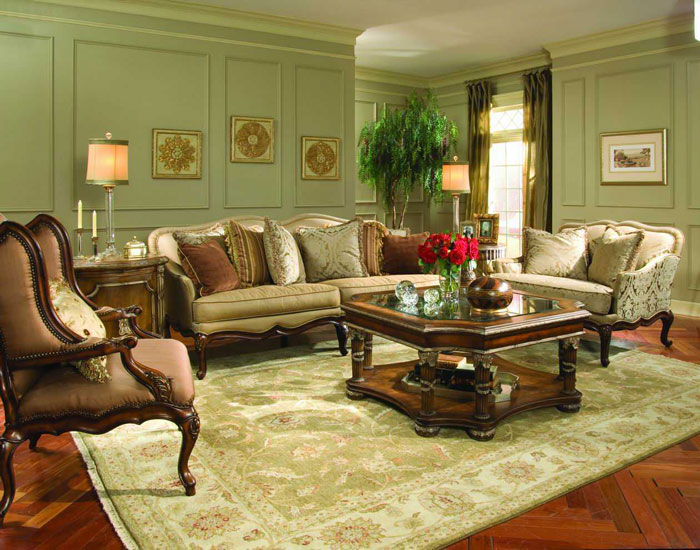 The Classic And Classy Style Of Victorian Living Rooms - victorian living room furniture