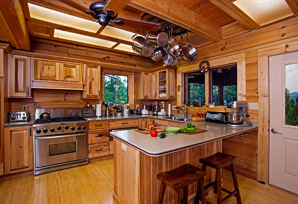 Best Cabin Design Ideas (47 Cabin Decor Pictures) - log home decorating ideas