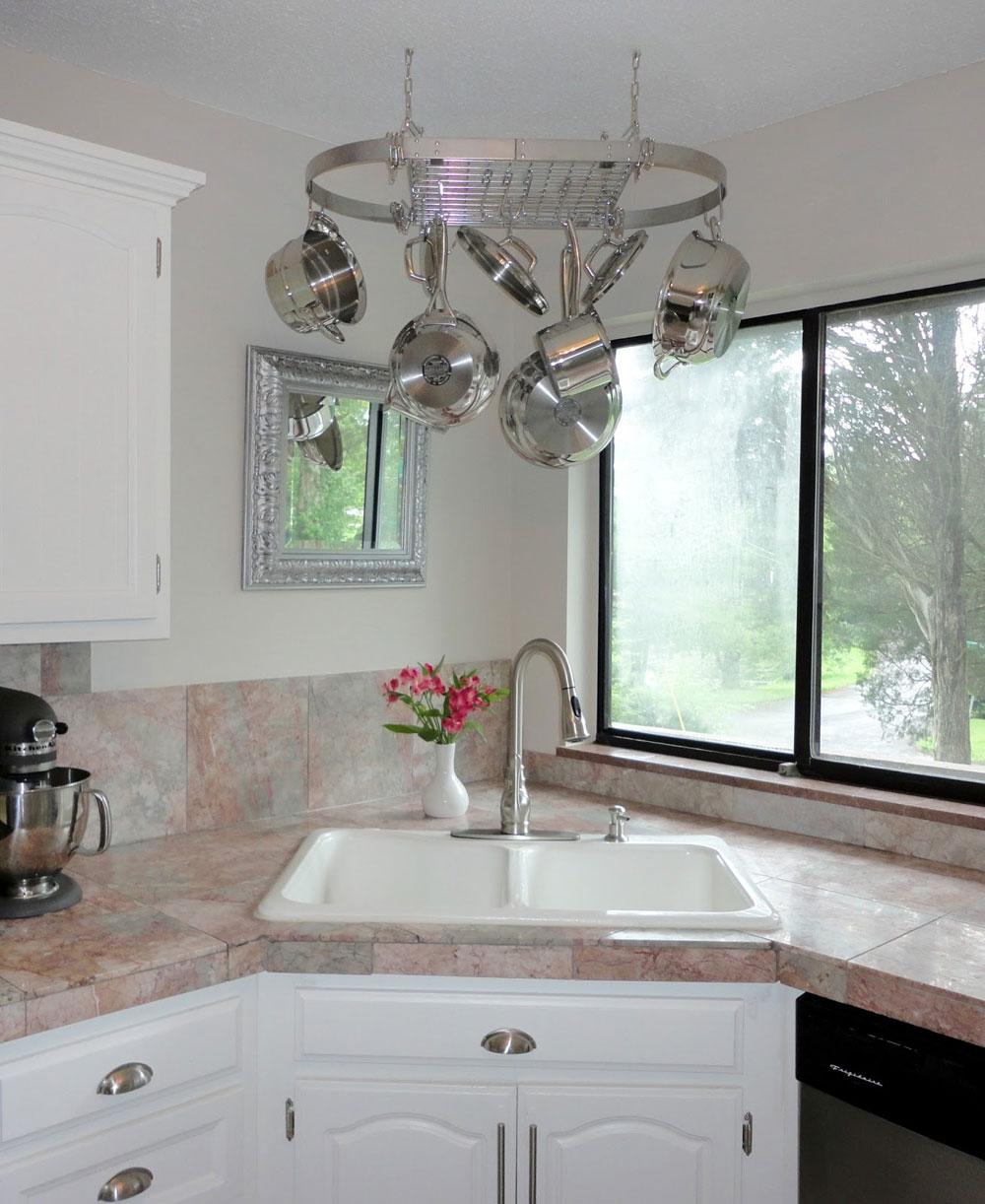 corner kitchen sink design ideas corner kitchen sinks Corner Kitchen Sink Design Ideas 12