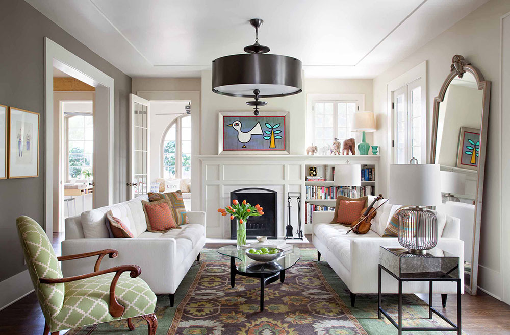 How To Make A Living Room Look Larger - how to make a small living room look bigger