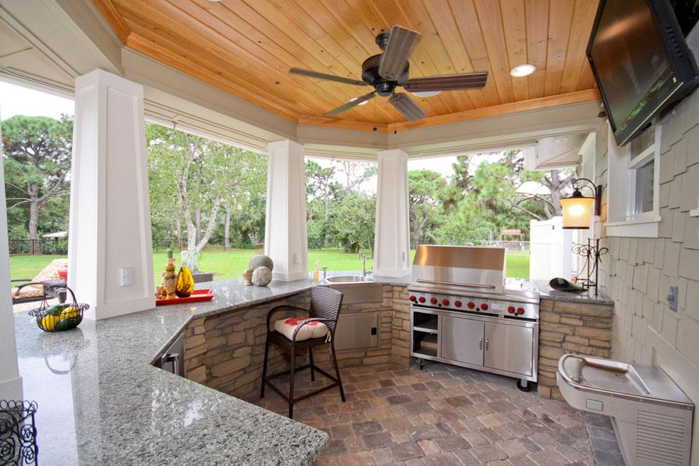 Designing the Best Outdoor Kitchen And Backyard Kitchen - summer kitchen design