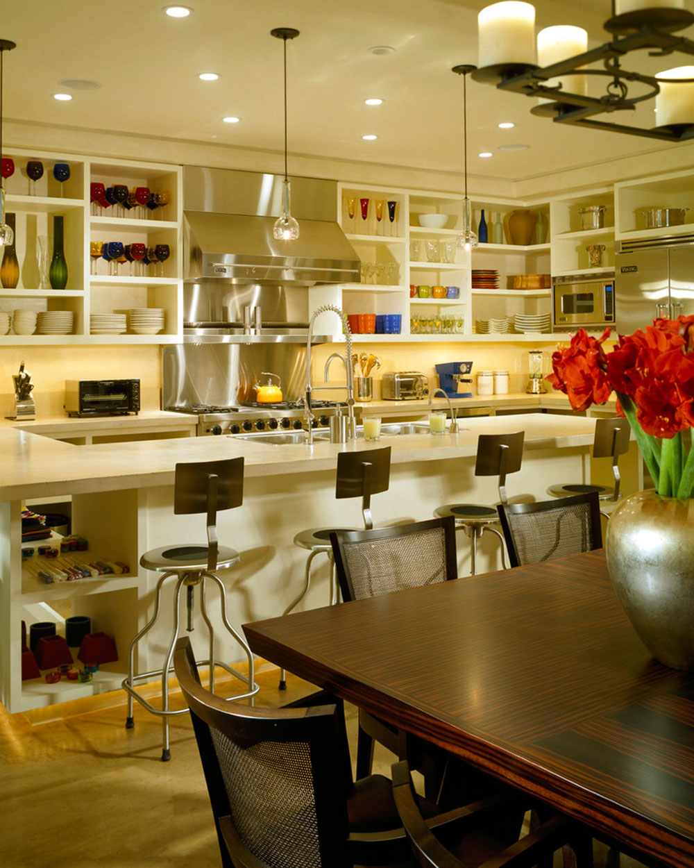 open kitchen cabinets are easier to handle open kitchen cabinets Open Kitchen Cabinets Are Easier To Handle1
