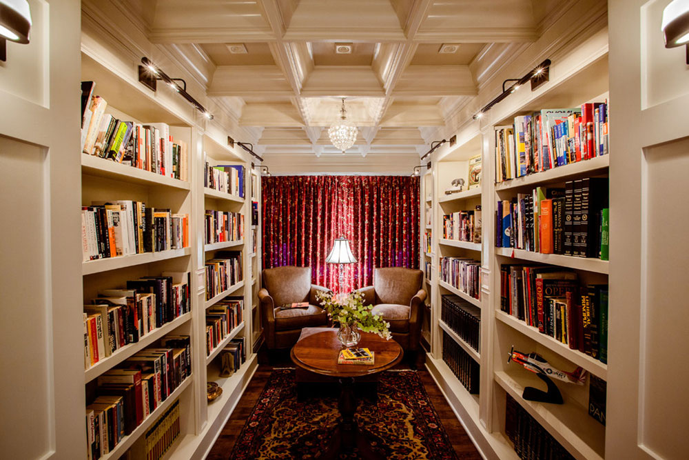 Impressive Home Library Design Ideas For 2017 - home library ideas