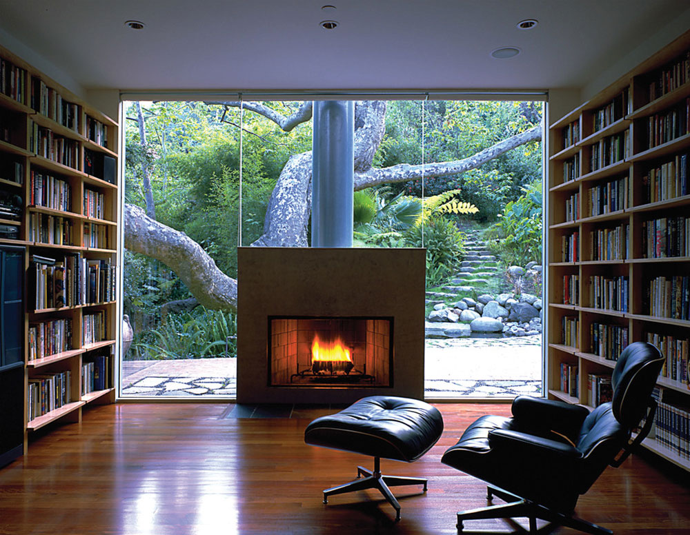 Impressive Home Library Design Ideas For 2017 - home library design