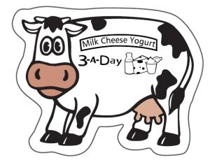Cow Shape Magnet # 80600830