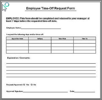 time off request - Acurlunamedia - request for time off form