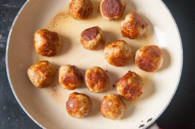 Ground Chicken Meatballs Recipe