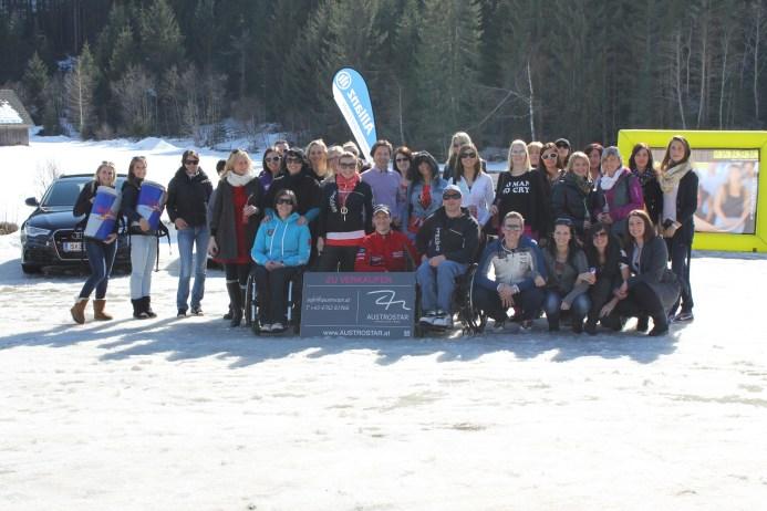 Gruppenfoto women.ice.experience (Foto MG)