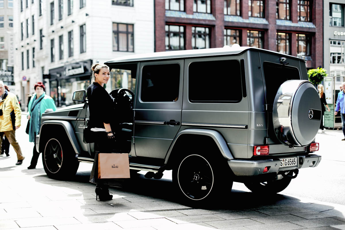 Mercedes Benz G65 AMG : Hamburg