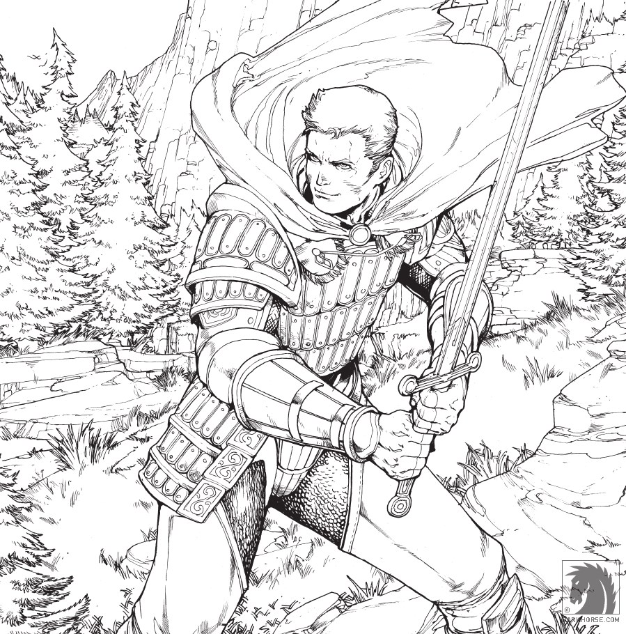 Dragon Age Adult Coloring Book Takes A Safe Approach That Download