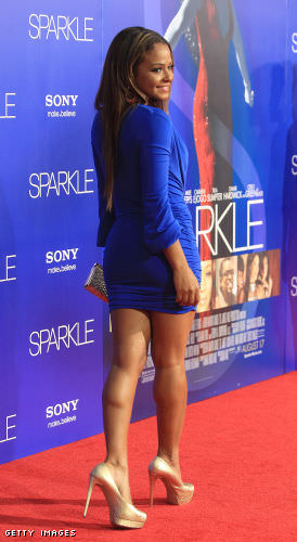 Cute Chinese Girls Wallpaper Christina Milian And Her Stunning Legs In A Short Blue