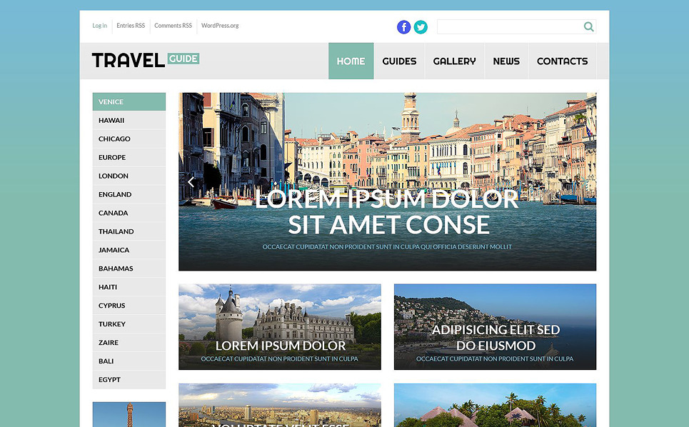 Best WordPress Themes for Travel Blogging Sites