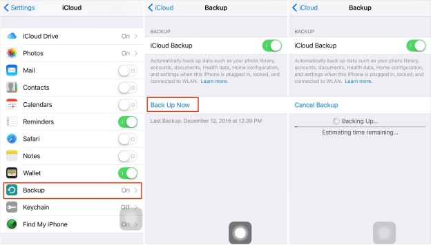 How to Back Up iPhone to Apple ID?