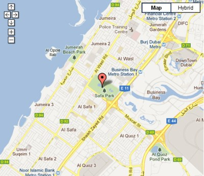 Safa Park Dubai | Location Map and Reviews