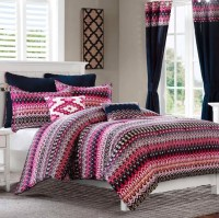 Colorful Bed Comforter Sets Full_3 at In Seven Colors ...