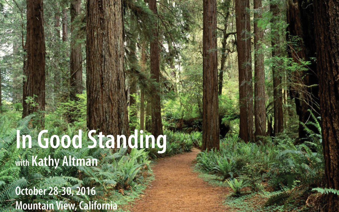 In Good Standing October 28-30, 2016