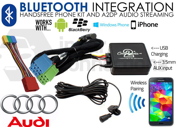 CTAADBT004 Audi Blutetooth Adapter Car USB Adapter