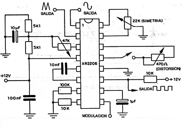 xr2206 schematic