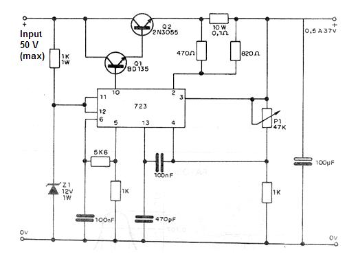 ic 723 voltage regulators