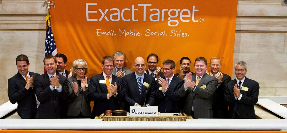 Inside ExactTarget\u0027s Journey From IPO to $25 Billion Acquisition