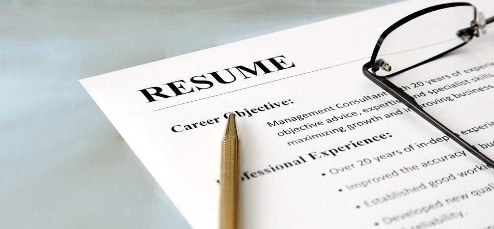 6 Mistakes You Can\u0027t Afford to Make on a Tech Resume Inc