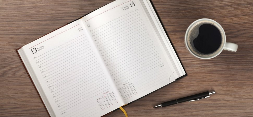 Why You Need to Add Plan a \u0027Blank Day\u0027 to Your Calendar Inc