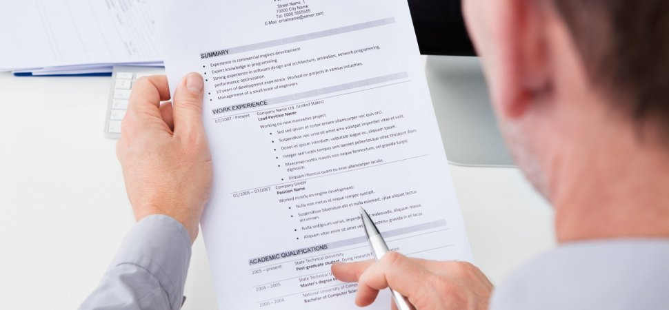 5 Elements of a Truly Effective Resume Inc